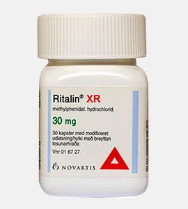 Ritalin (Methylphenidate) by Novartis