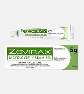 Zovirax (Aciclovir) Cream 5%
